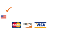 Fully Insured | 100% Owned and Operated in the USA | Accept Mastercard, Discover Card and Visa